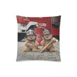 "Polster ""Travelling Teddy Feuerwehr 2"" 45x45cm"