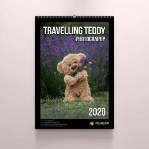 Bezaubernder Kalender Travelling Teddy 2020