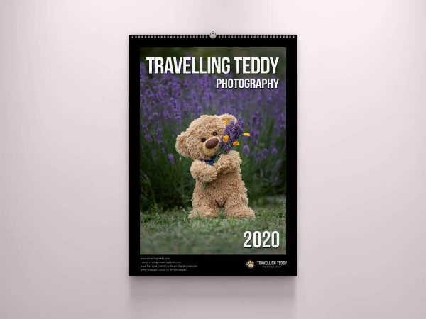 Kalender 2020 by Travelling Teddy