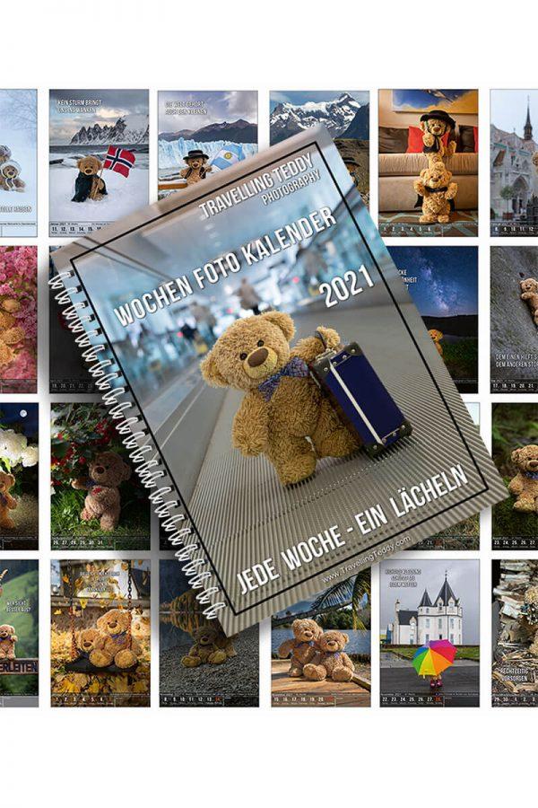 Wochen Foto Kalender Buch 2021
