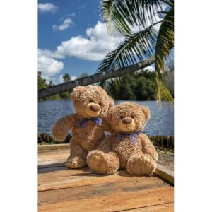 """Badetuch groß """"Travelling Teddy Kuba"""" 90x140cm"""