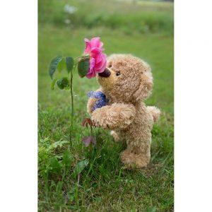 "Badetuch groß ""Travelling Teddy Rose"" 90x140cm"