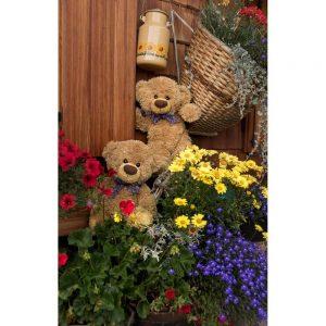 """Badetuch """"Travelling Teddy Tiroler Alm"""" 90x140cm"""