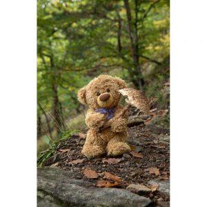 "Badetuch groß ""Travelling Teddy Pilz"" 90x140cm"